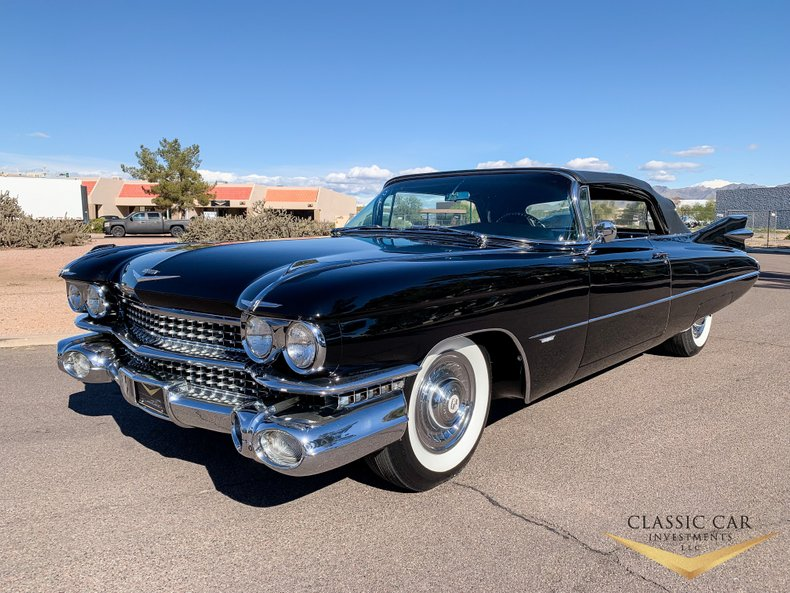 1959 Cadillac Series 62 Convertible For Sale 727 Motorious
