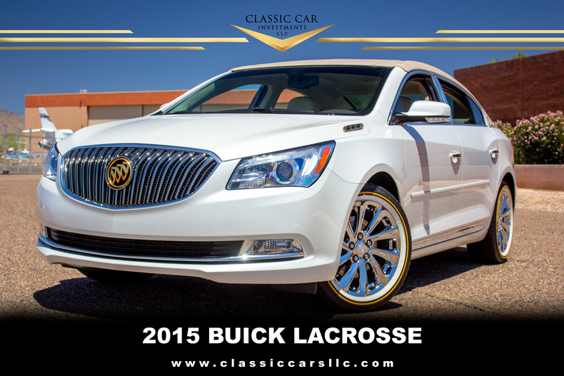 2015 buick lacrosse arizona edition