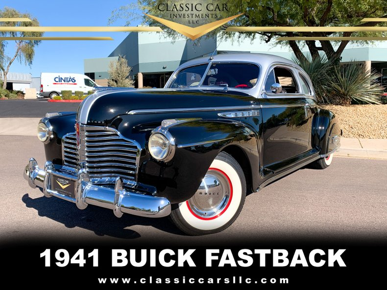 1941 Buick Special Fastback