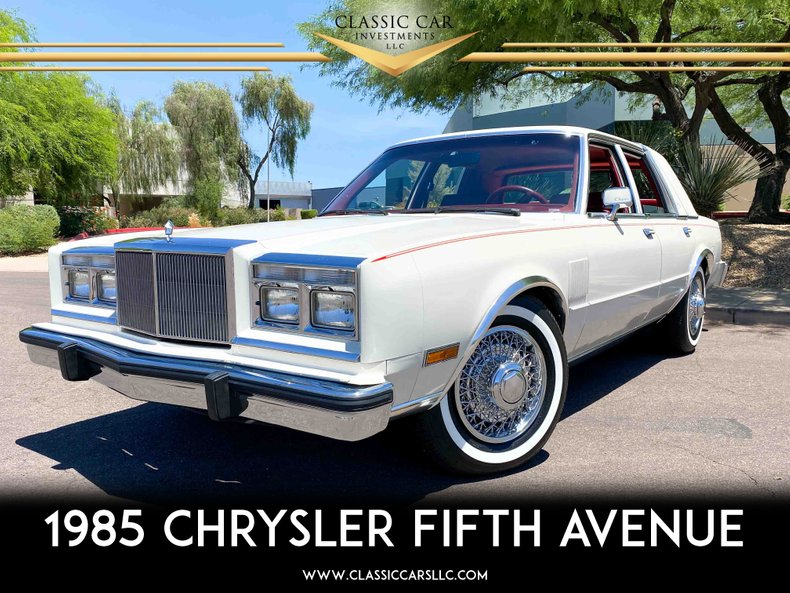 1985 Chrysler Fifth Avenue