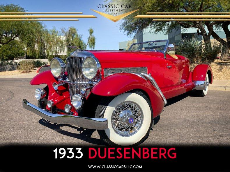 1933 Duesenberg II SJ Speedster