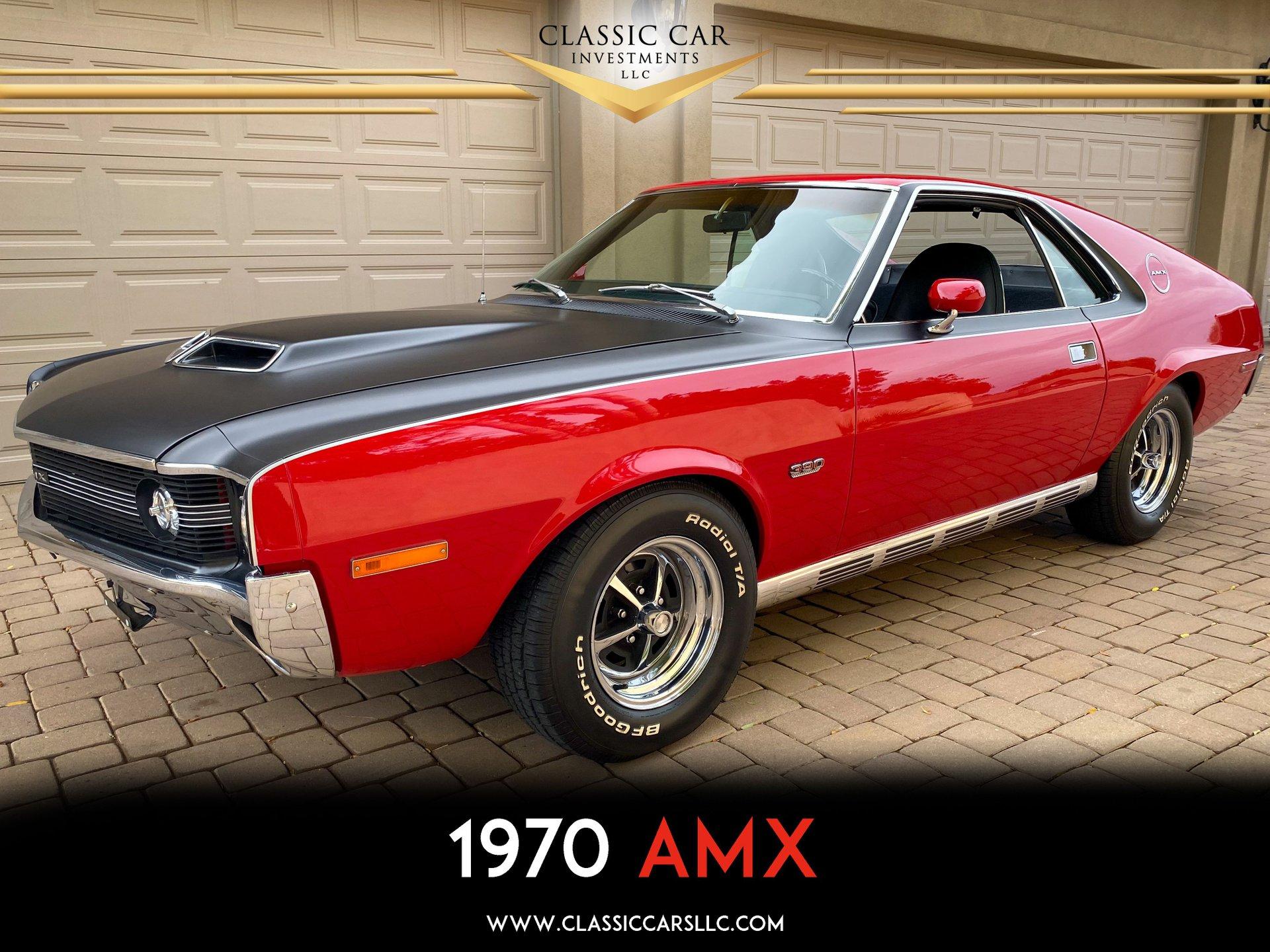 1970 amc amx sport coupe
