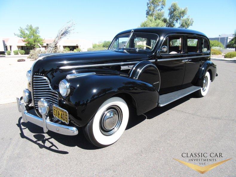 1940 Buick Series 90 Limited Touring Sedan