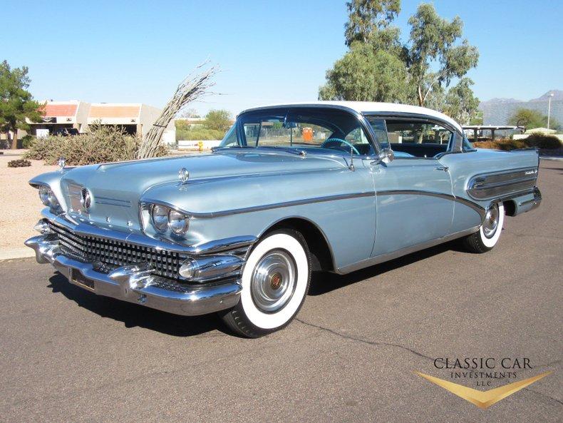 1958 Buick Roadmaster 75 Riviera