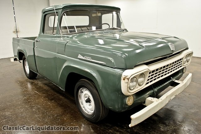 1958 Ford Other Pickups