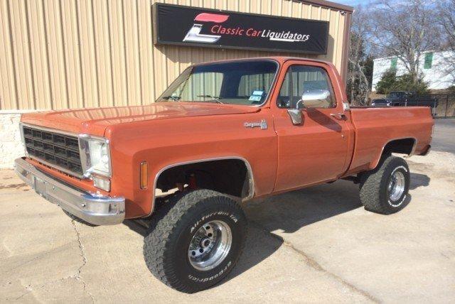 1976 Chevrolet Cheyenne