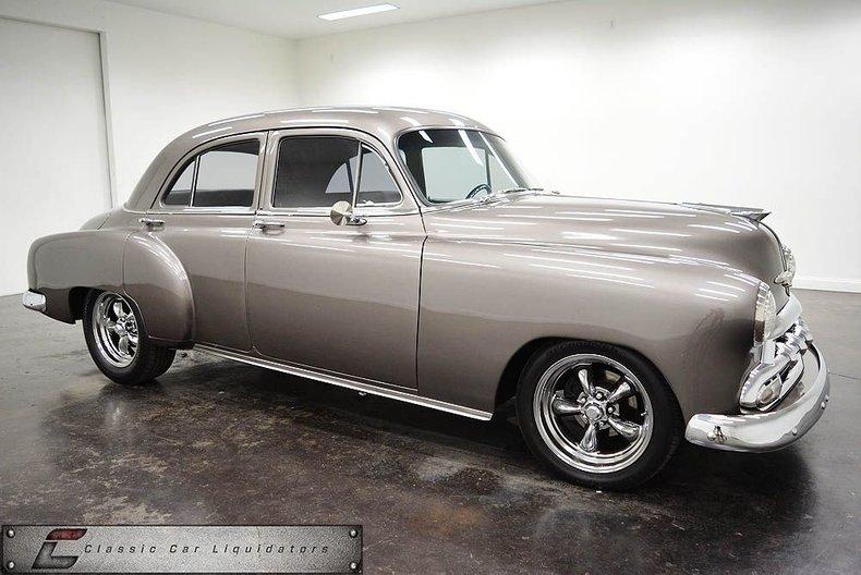 1952 Chevrolet 4 Door Sedan