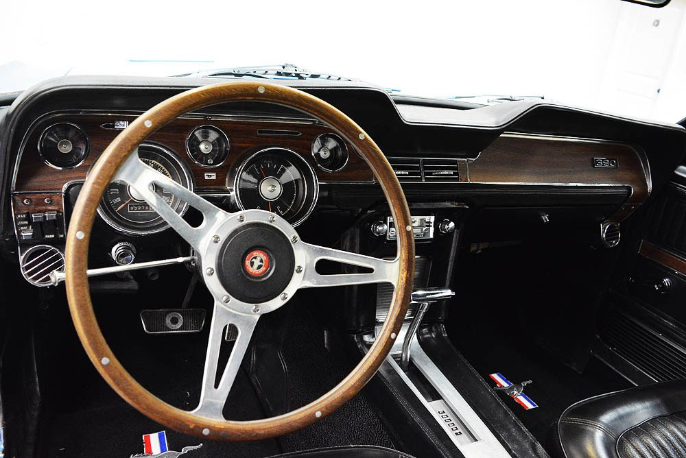 1968 Ford Mustang GT 390 S-Code   Classic Car Liquidators in Sherman, TX
