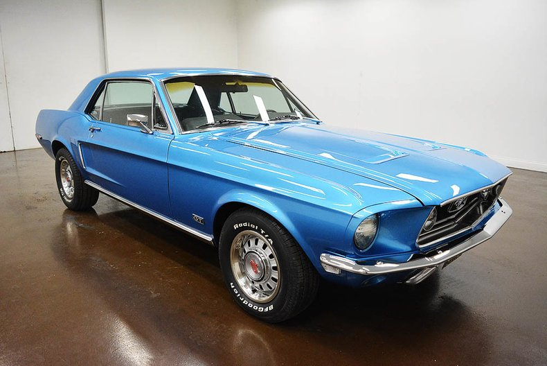 1968 Ford Mustang GT 390 S-Code