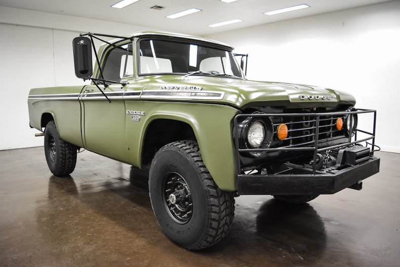1967 Dodge D200