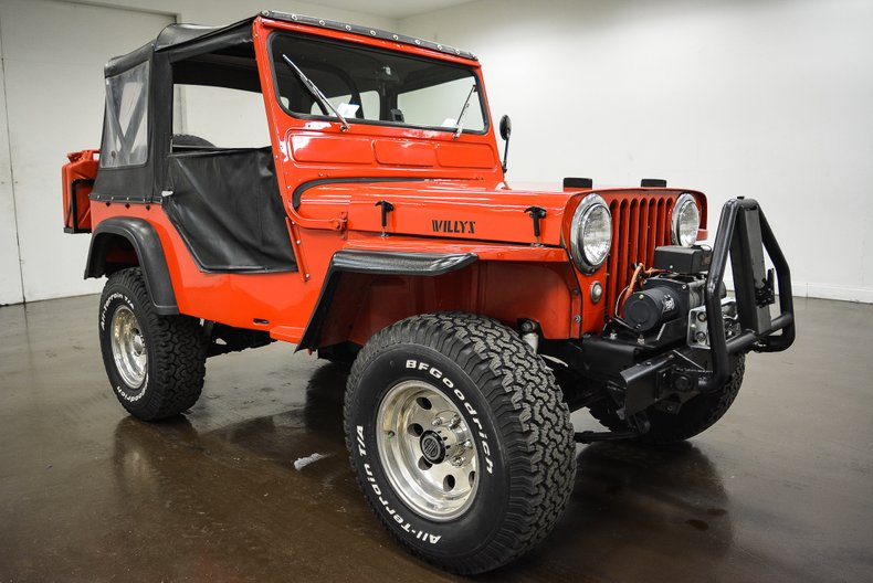 1947 Willys CJ2A Jeep