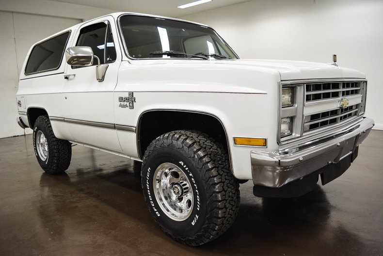 1986 Chevrolet K-5 Blazer