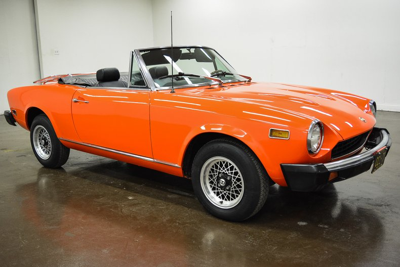 1976 Fiat 124 Spider For Sale