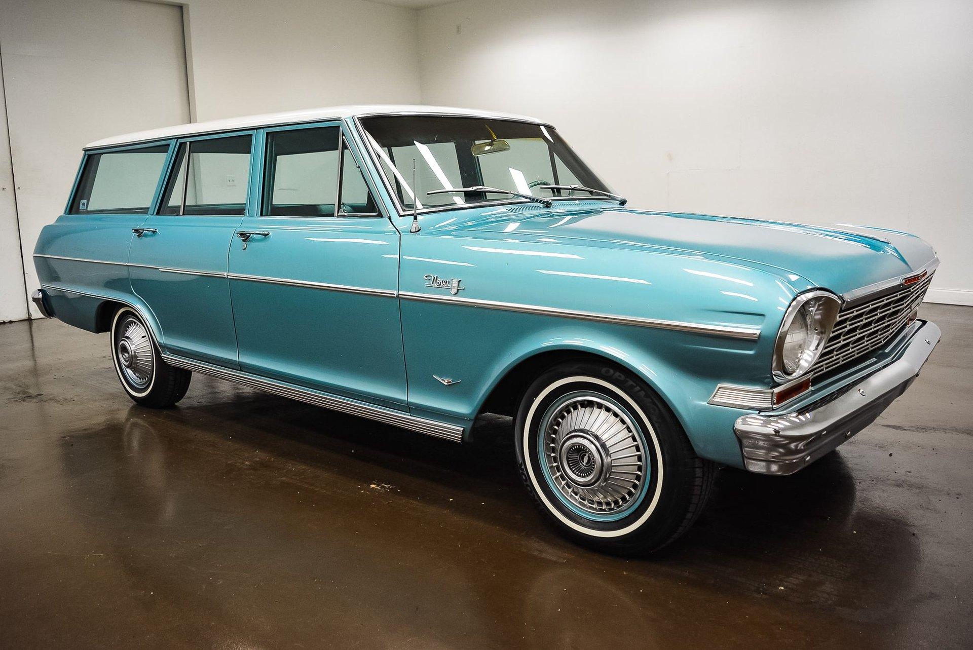 1964 chevrolet nova v8 wagon