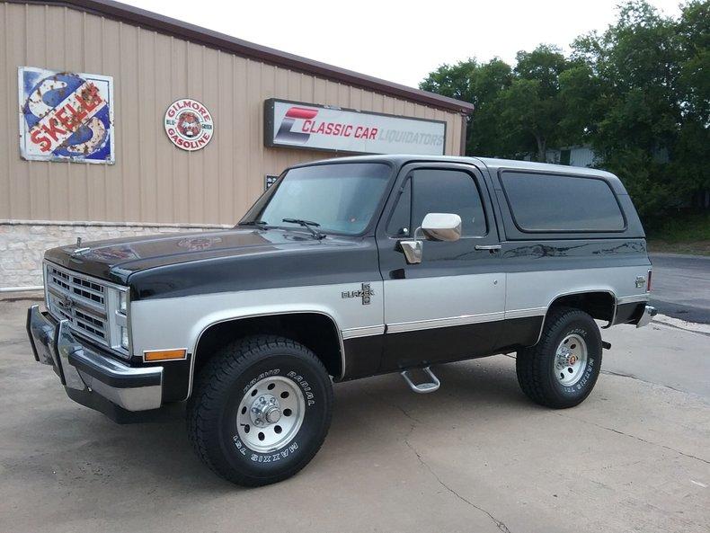 1987 Chevrolet K-5 Blazer