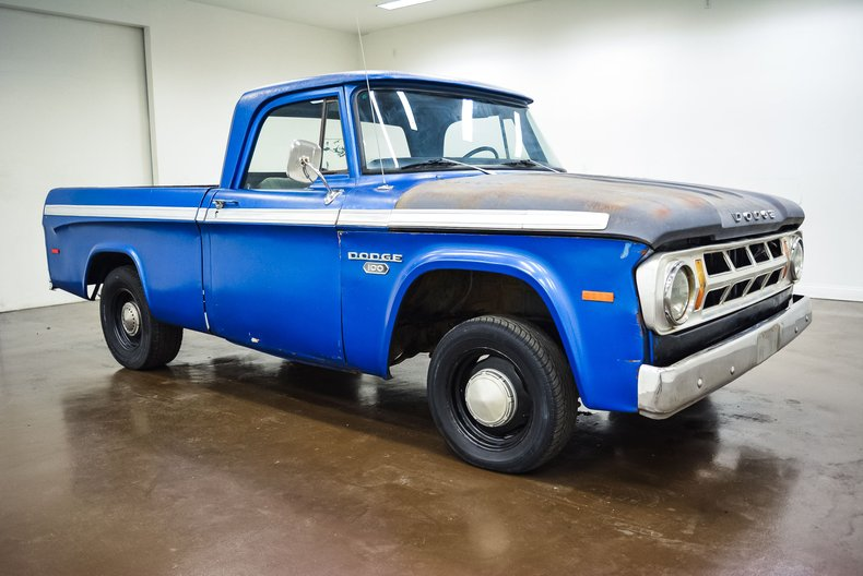 1971 Dodge D100 For Sale