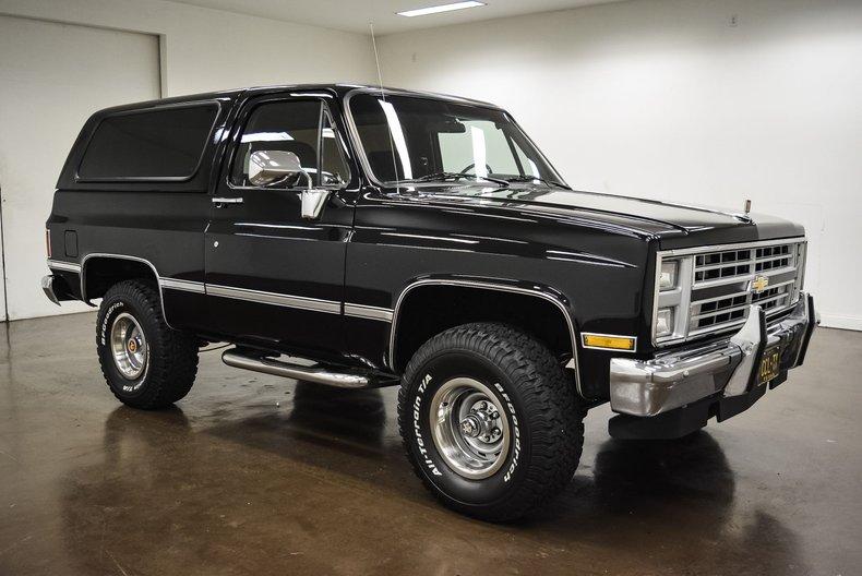 1985 Chevrolet K-5 Blazer For Sale