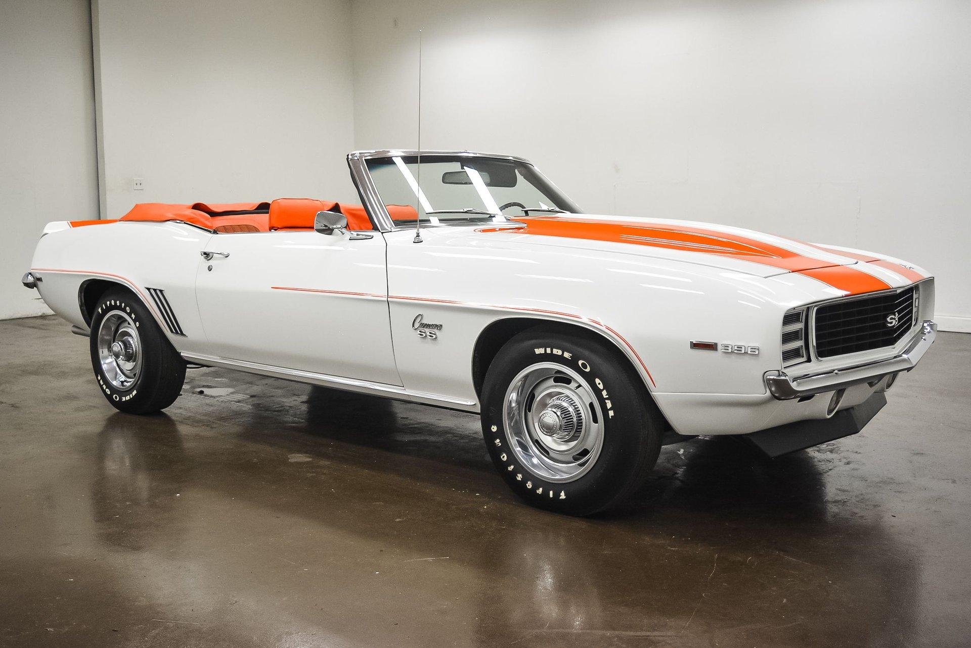 1969 chevrolet camaro rs ss 4 speed