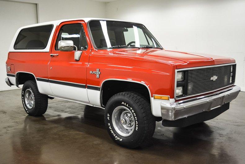 1985 Chevrolet K5 Blazer