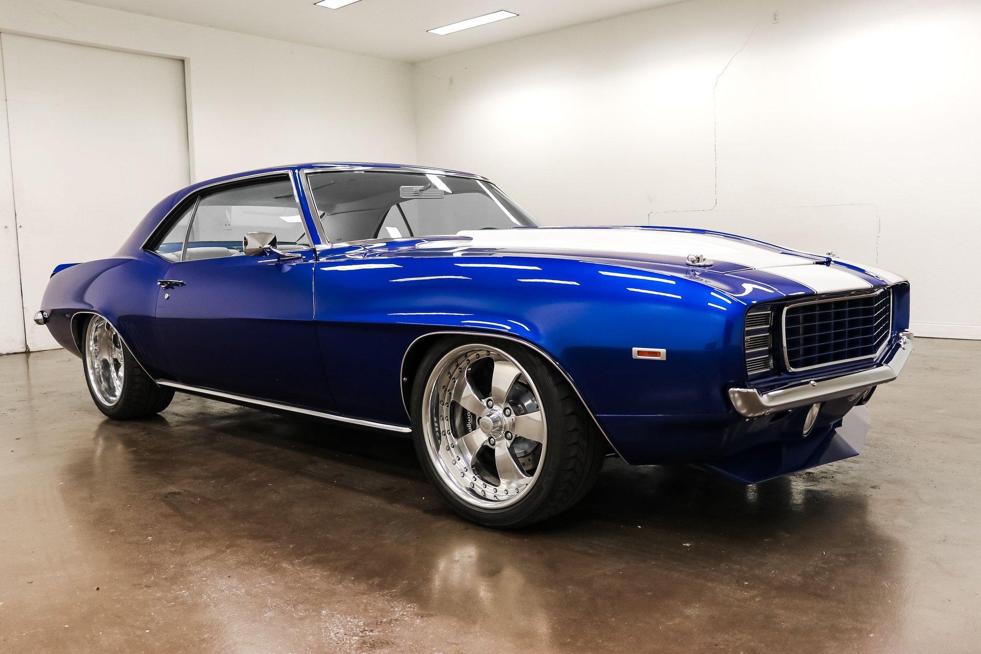 1969 chevrolet camaro blue devil