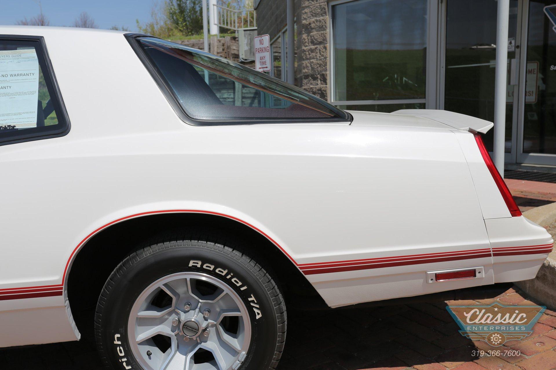 1987 Chevrolet Monte Carlo | Duffy's Classic Cars