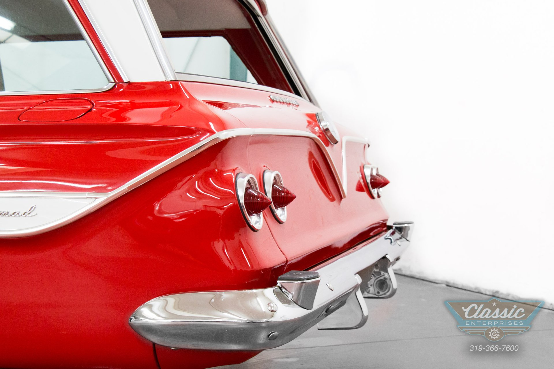 1960 Chevy Nomad Wagon Solid Body Power Steering And Power Brakes The