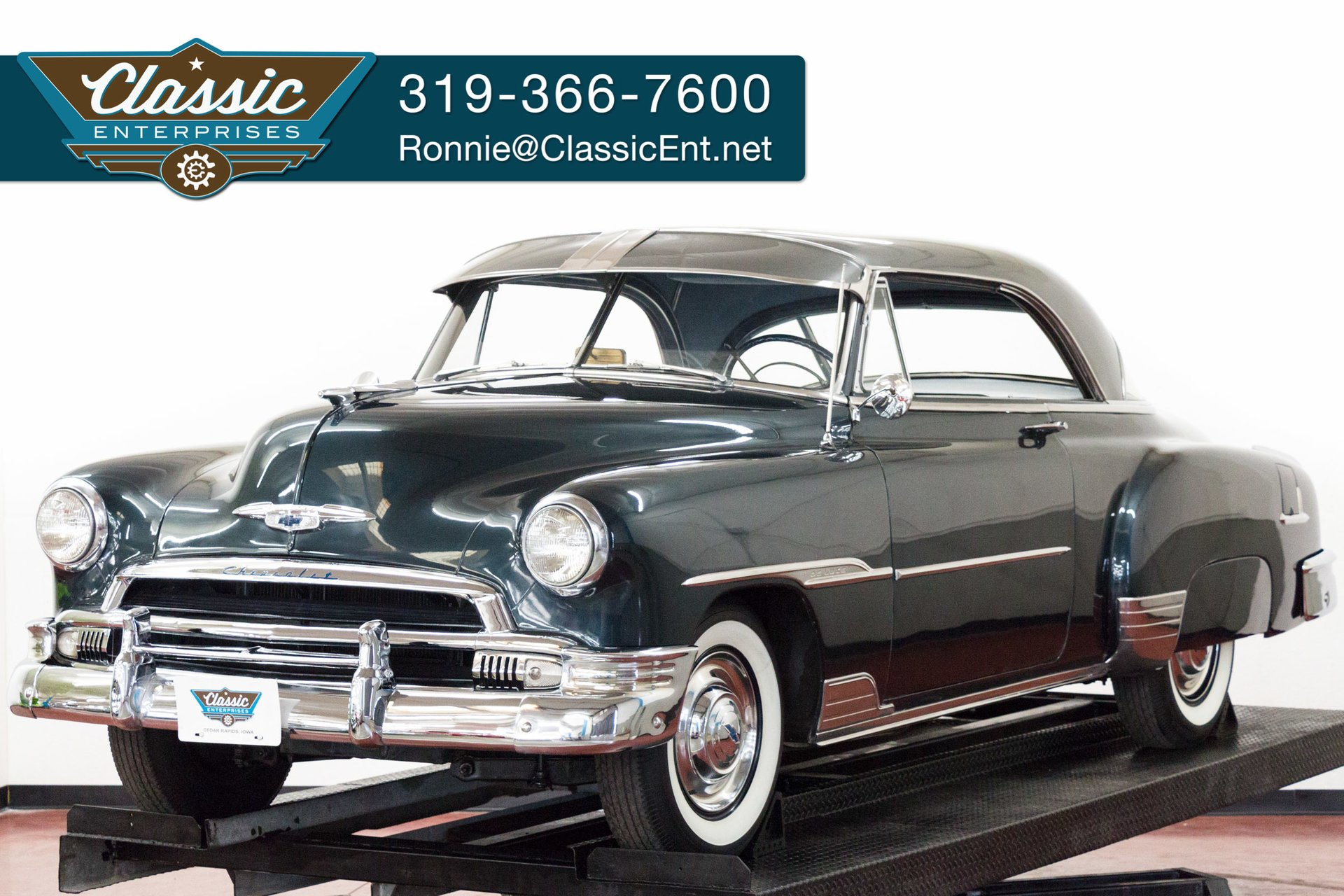 1951 Chevrolet Bel Air Classic Enterprises Paint Colors