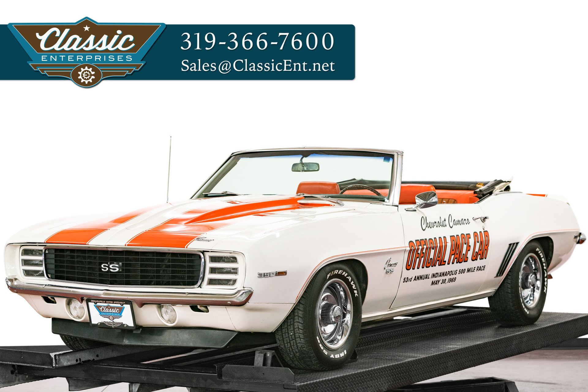 1969 Chevrolet Camaro | Duffy's Classic Cars