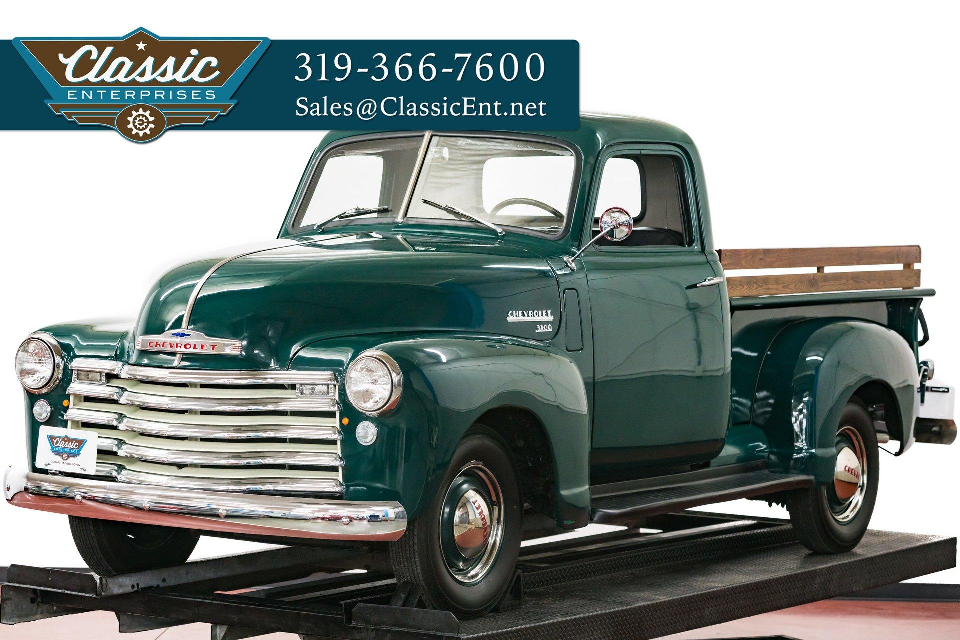 1950 Chevrolet 1-1/2 Ton Pickup