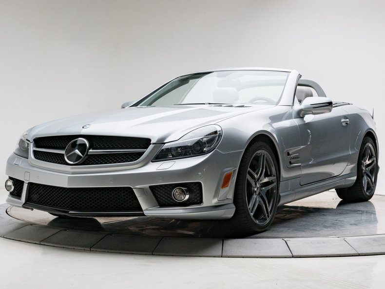 Infiniti Dealer Reading >> 2009 Mercedes-benz Sl63 Amg 6.3l V8 7 Speed Automatic Roadster Paladium Silver - Used Mercedes ...