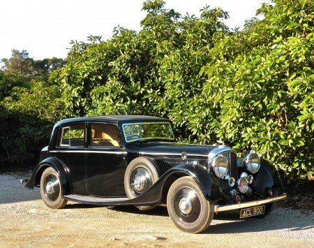1938 bentley 4 1 4 litre sport saloon