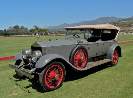 1920 rolls royce silver ghost pall mall dual windscreen tourer