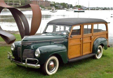 Plymouth p10 woody wagon