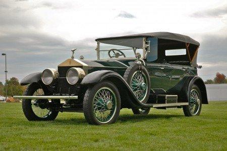 1921 rolls royce silver gost 7 passenger tourer