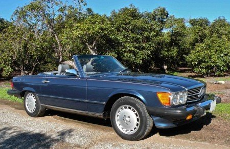 1987 mercedes benz 560sl roadster
