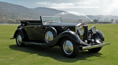 1934 rolls royce phantom ii sedanca coupe