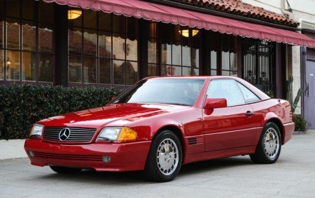 1992 mercedes benz 300sl roadster