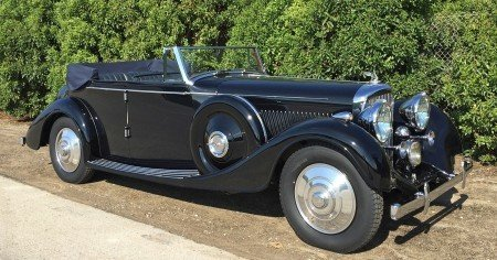 1938 bentley 4 1 4 litre allweather tourer