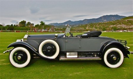 1926 rolls royce silver ghost roadster