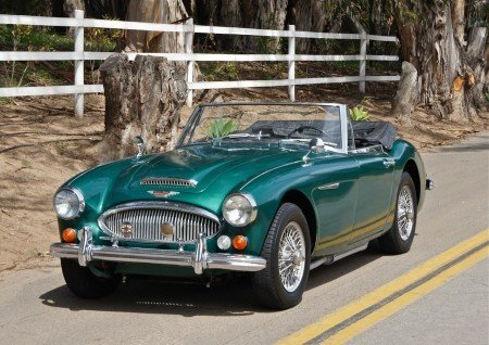 1968 austin healey 3000 mark iii bj8