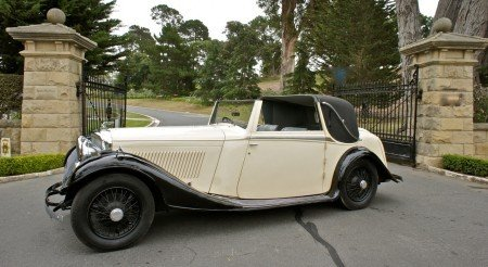 1934 bentley 3 5 litre fixed head sedanca coupe
