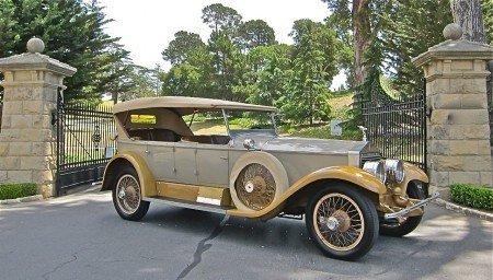 1925 rolls royce silver ghost tourer