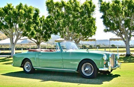 1961 alvis td21 drophead coupe lhd