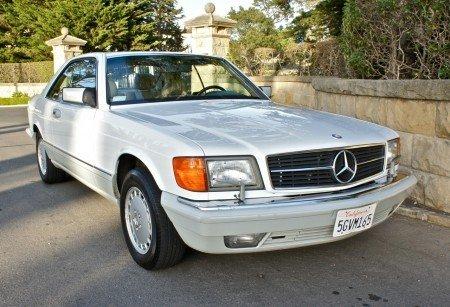 1990 mercedes benz 560sec