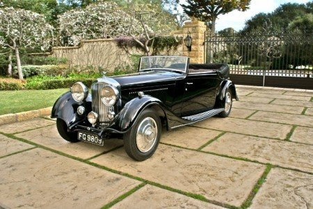 1934 bentley 3 1 2 litre 3 position drophead coupe