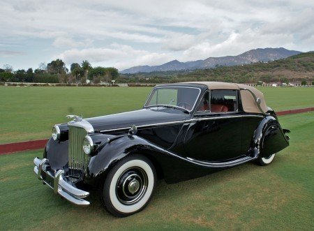 1950 jaguar mark v drophead coupe