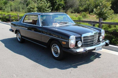 1975 mercedes benz 280 c sunroof coupe