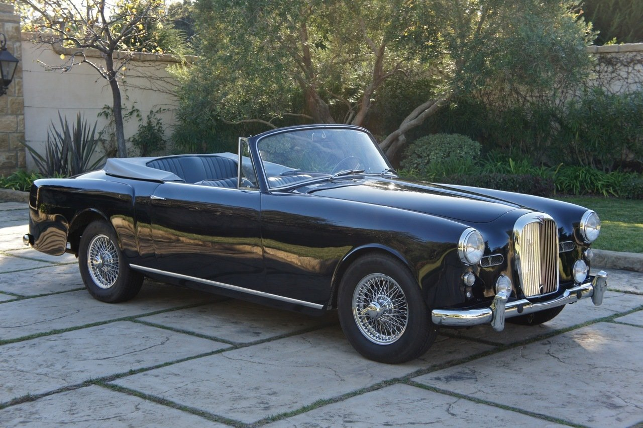 1960 alvis td21 drophead coupe