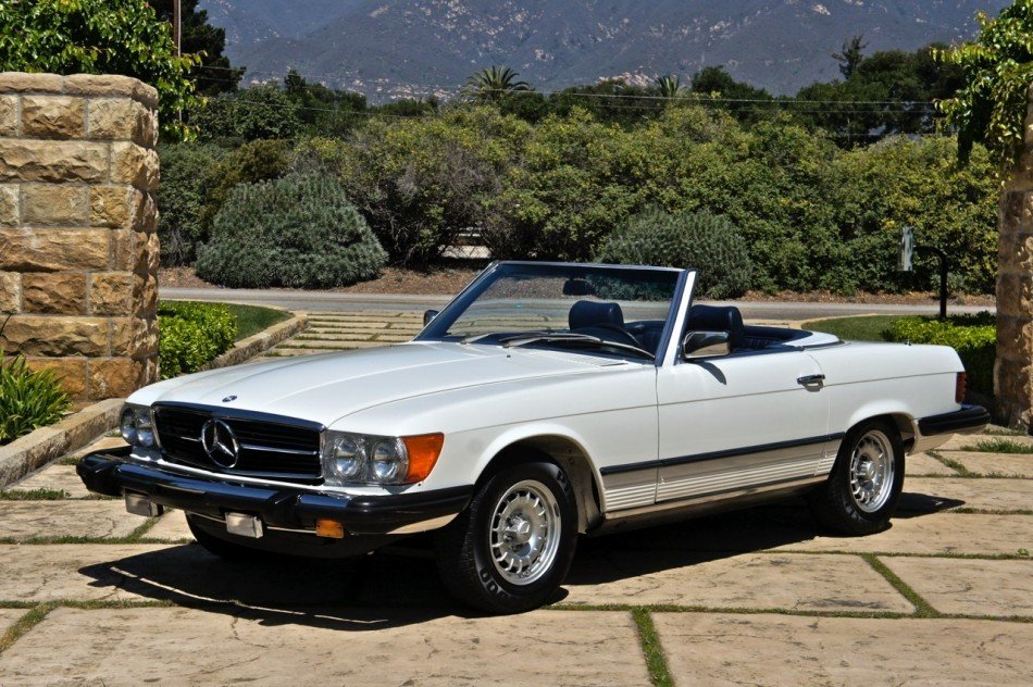 1980 mercedes benz 450sl roadster