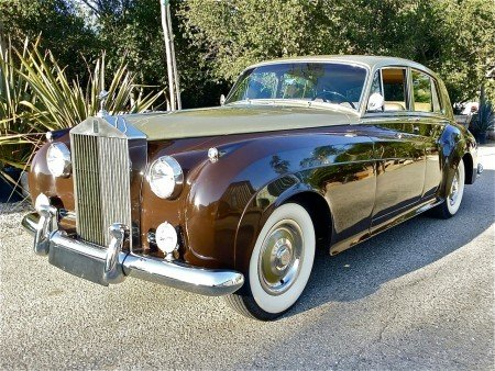 1959 rolls royce silver cloud i sedan